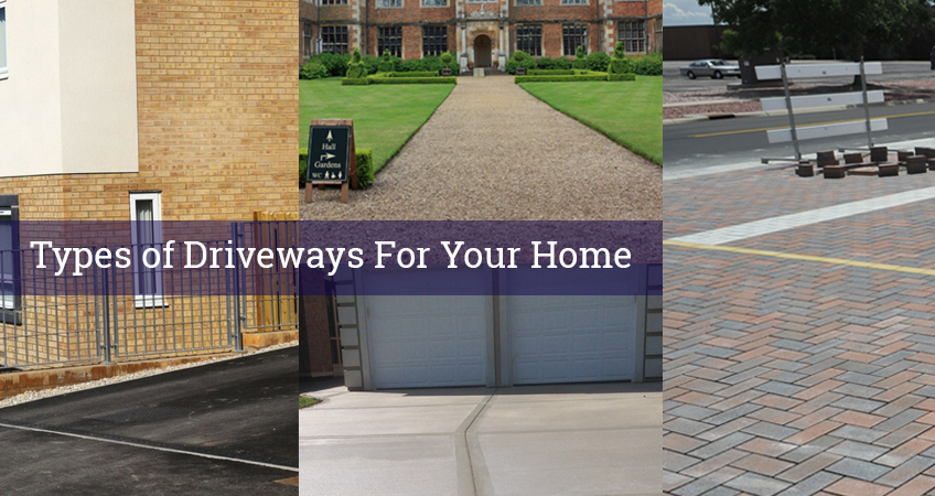 4 Types of Driveways for Your Home & their Advantages | Infographic